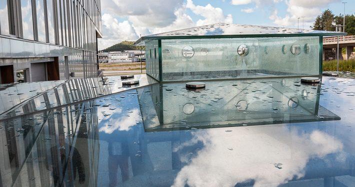 Glasstak. Foto©Otto von Münchow
