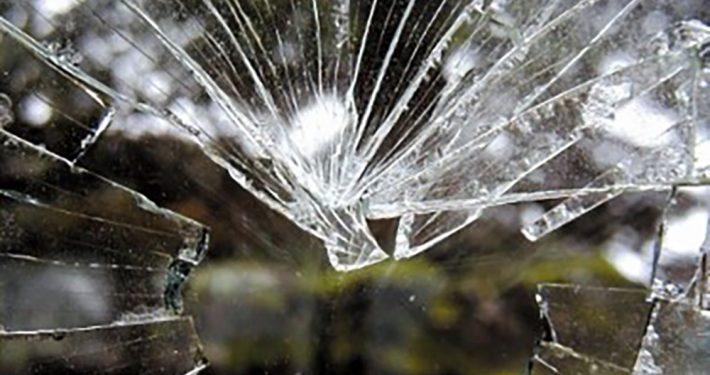 Bruddmønster i varmeforsterket glass