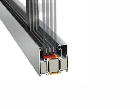 Innvendige vegger med brannmotstand i helglass-system helt opp til EI-60