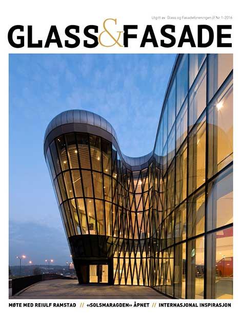 Foto cover Glass og Fasade