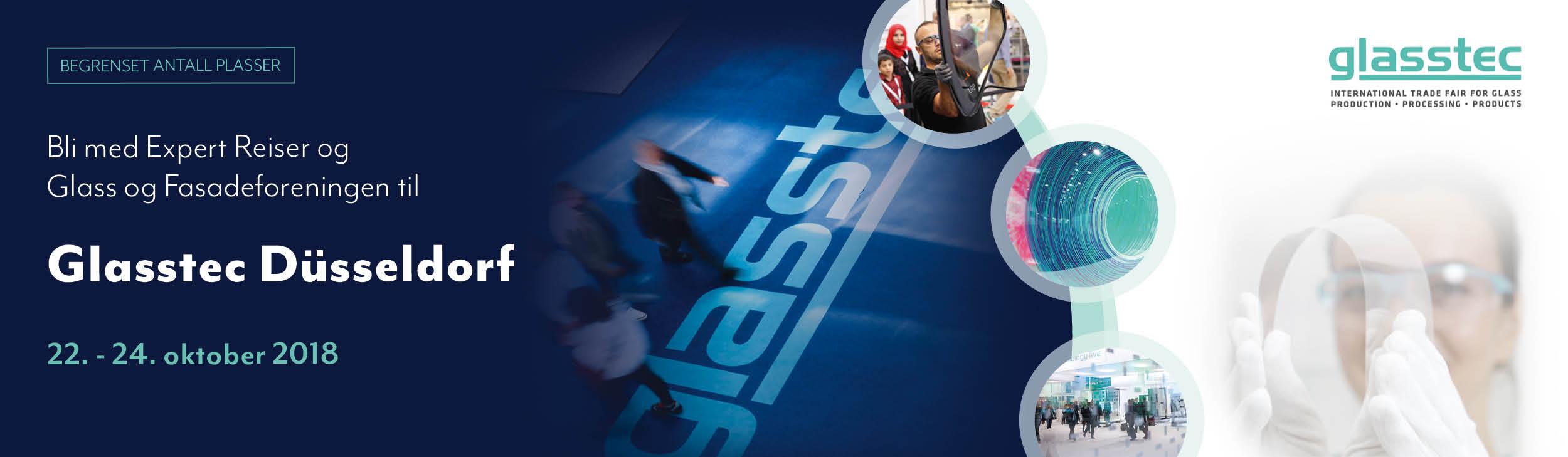 Annonse for Glasstec