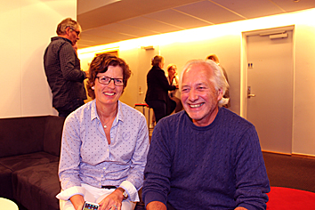 Foto av Karin Hoftsda og Odd Martin Kjernet