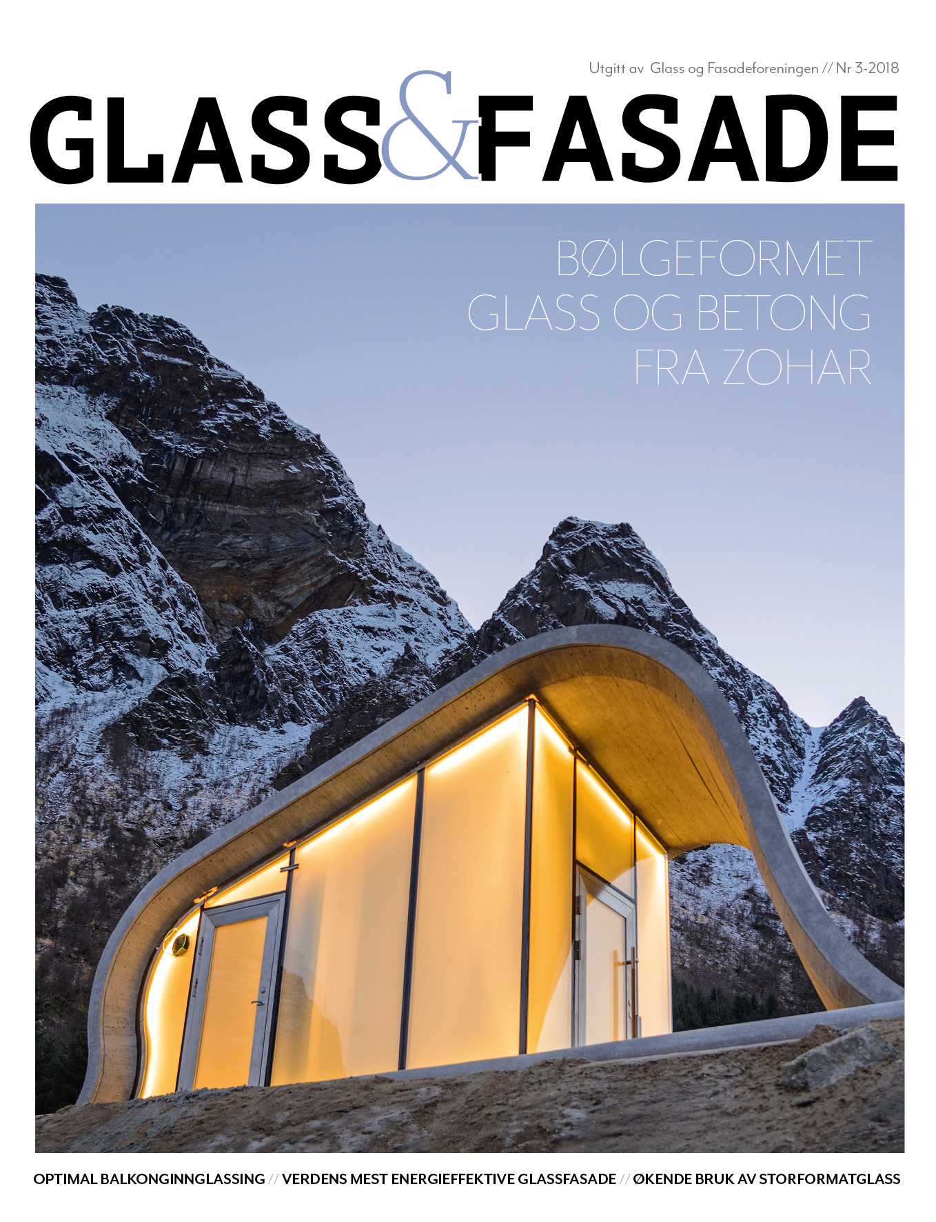 Cover Glass og fasade utgave 3 2018
