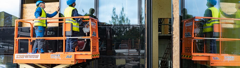 Foto av 6-lags fasade i Samling
