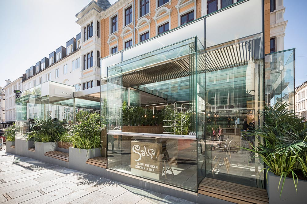 Restaurant Salsa. foto: Otto von Munchow