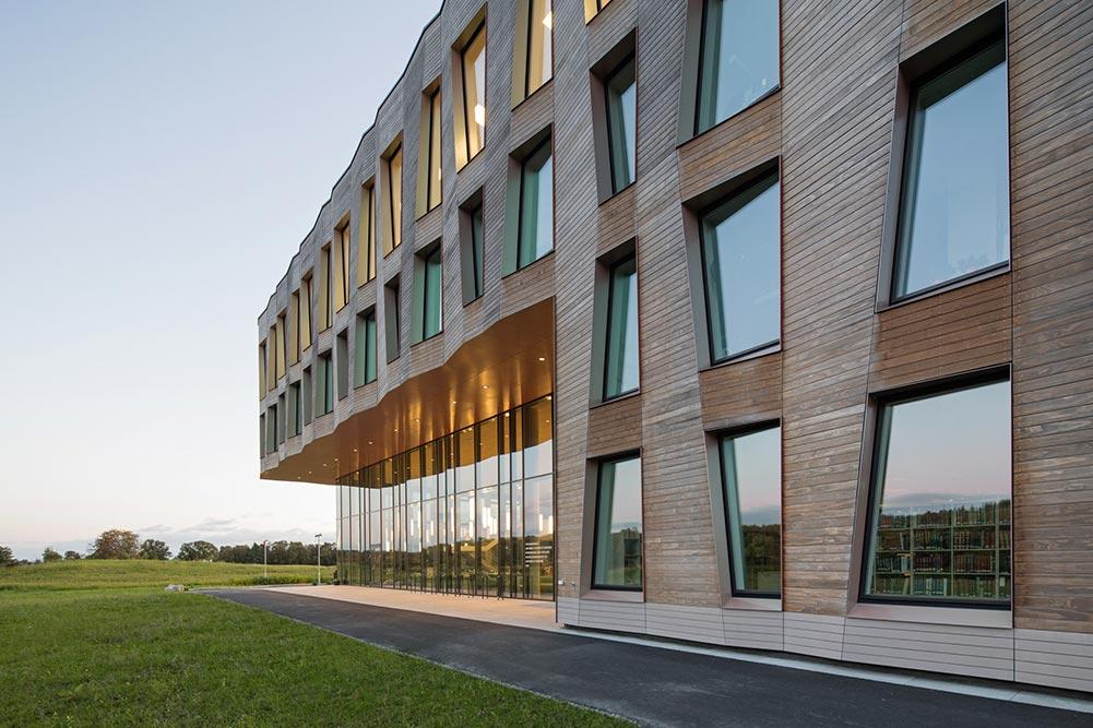 Foto av Arkitektenes hus. Foto: Lund-Slaatto Arkitekter