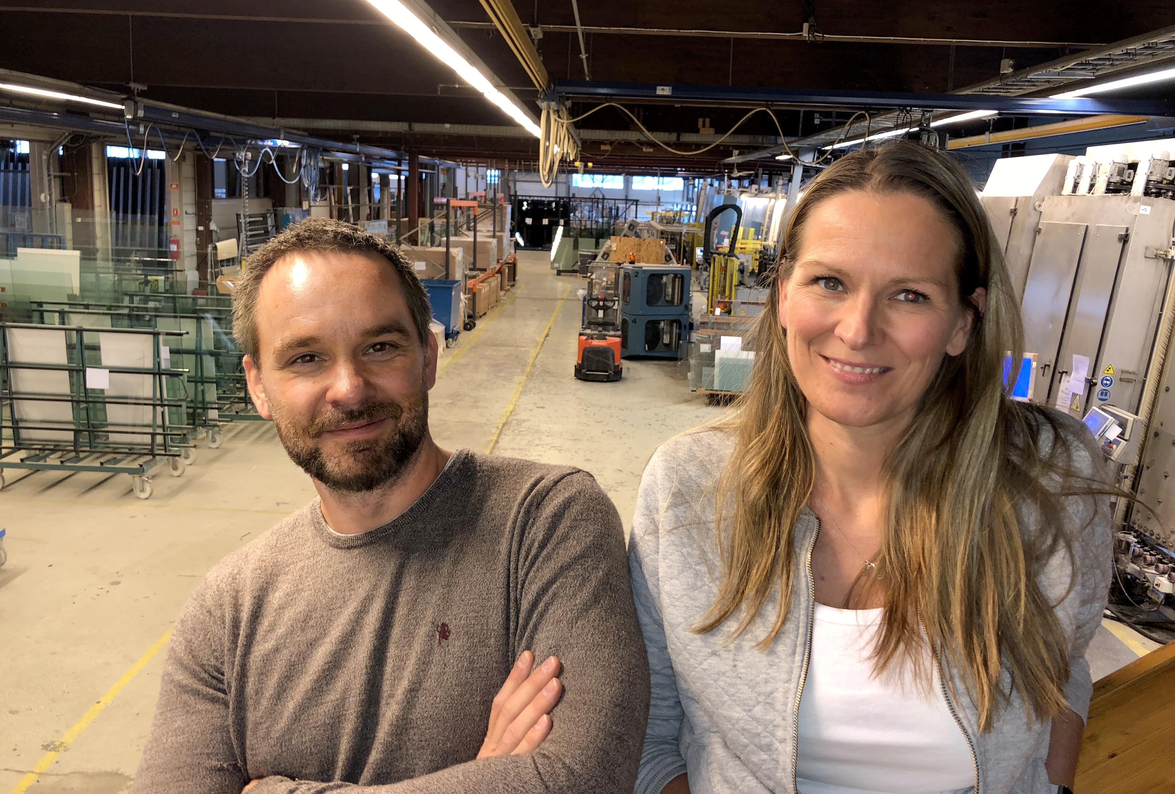 Foto av Lars-Petter Hansen og Randi Ekeberg Bruun