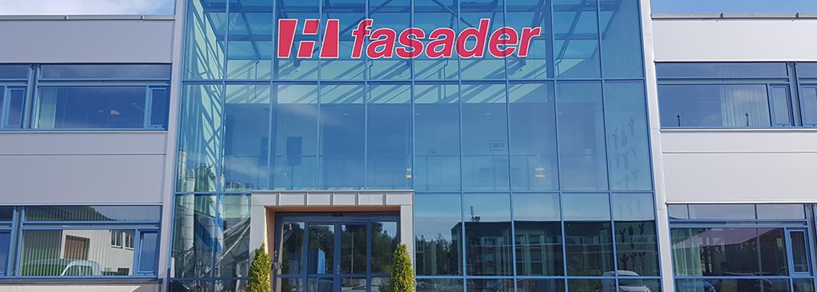 Foto av H fasaders kontorbygg