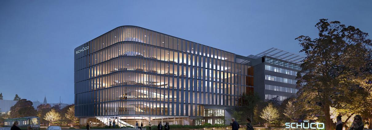 Foto av Schucos kontorbygning