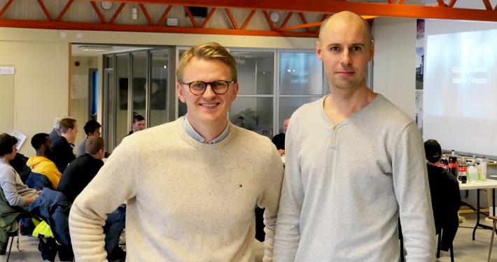 Foto av Anders Tvetene og Kristian Nauf