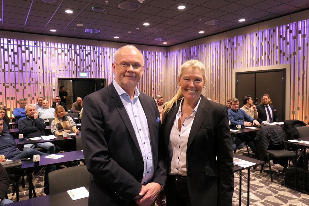 Foto av Bjørn Glenn Hansen og Anne Charlotte Braastad