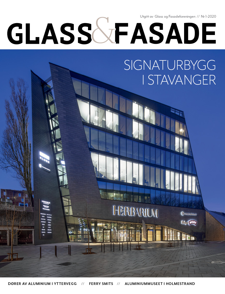 Cover Glass og fasade 1 2020