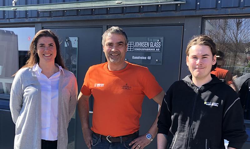 Foto av Eva Christine Larsen, Thor Henning Johnsen og Hans-Peter Hole