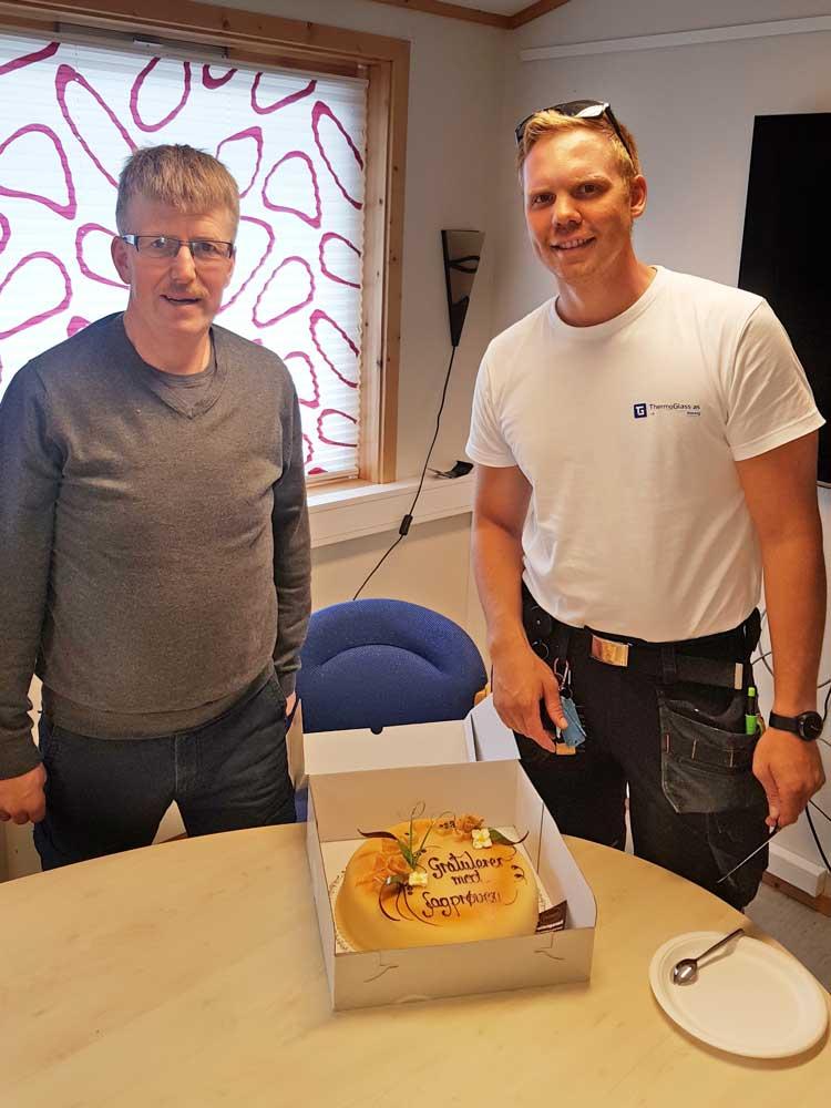 Foto av Håvard Nyheim og Gard-Even Kristoffersen