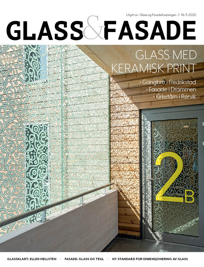 Cover magasinet Glass&Fasade 0320