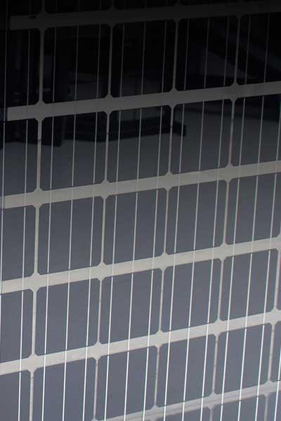 Foto av Powerrail solcellerekkverk fra Sagstuen AS