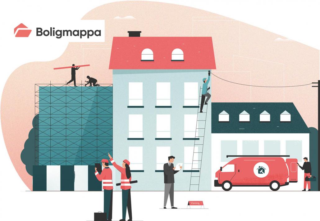 Illustrasjon av Boligmappa