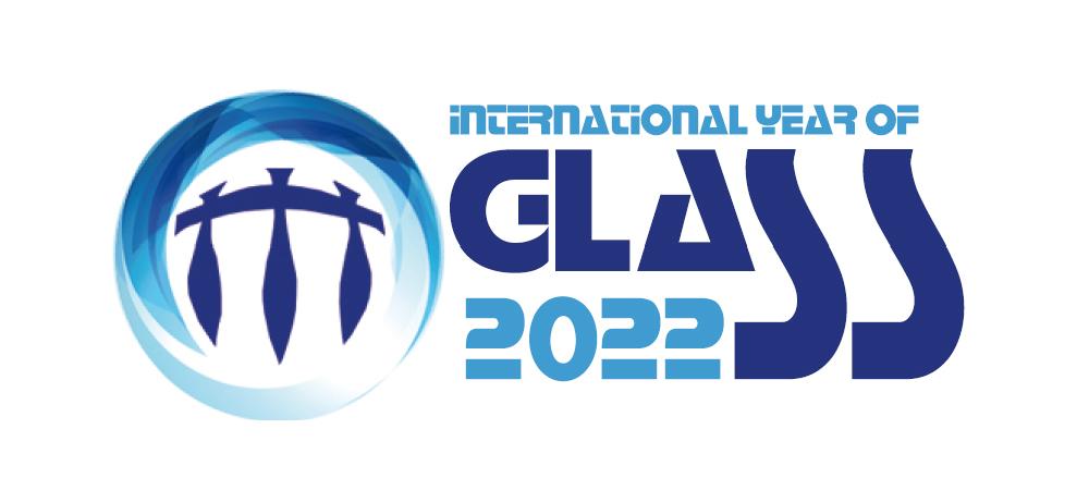 Logo Det internasjonale glassåret 2022