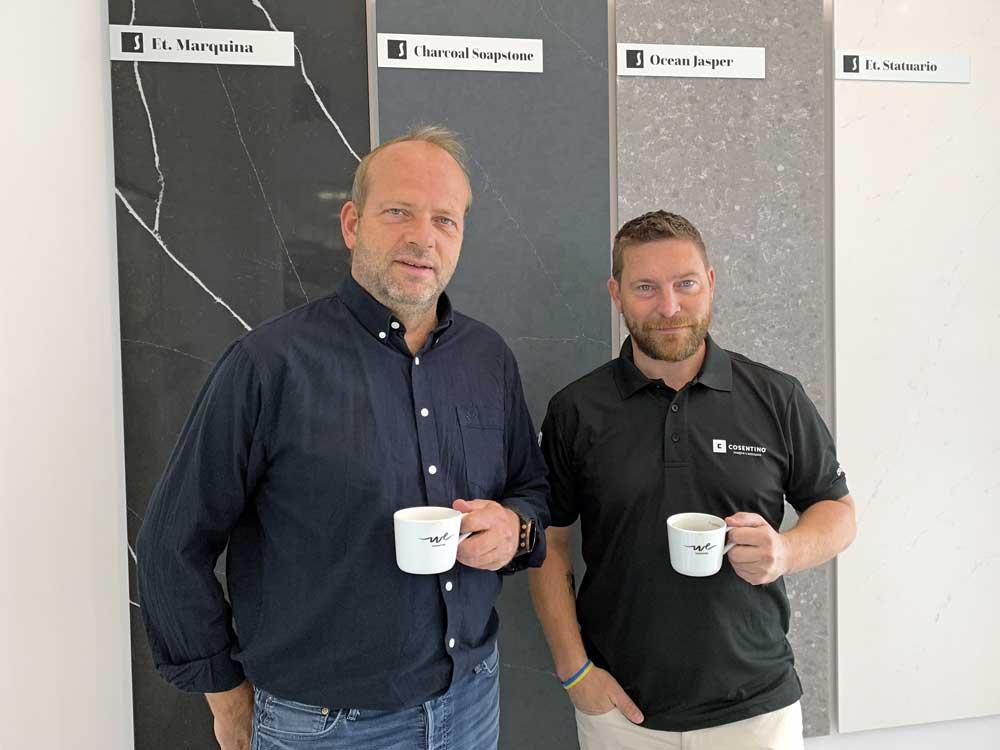 Foto av Jan Frode Hagen og Dag Ove Pettersen