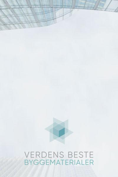 Annonse for Verdens beste byggematerialer