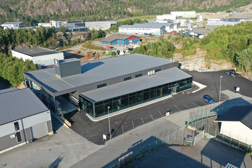 Foto av fabrikk