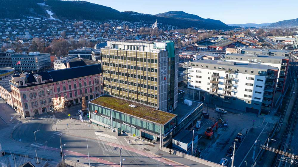 Foto av Ticon-bygget.